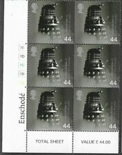 Daleks-Dr.Who Special block of six stamps official Royal Mail issue 1999-mnh