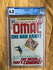 OMAC #1 One Man Army DC Comic 1974 Jack Kirby Art Atomic Explosion Panel CGC 6.0