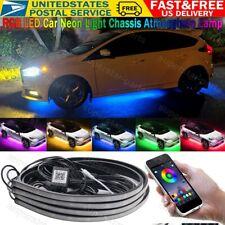 Color Led Underbody Under Glow Light Kit w/ Sound Active
