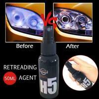 Car Repair Fluid For Auto Vehicle Headlight lamp Liquid Retreading Agent 50ml