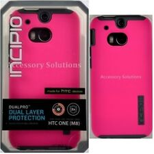 Incipio HTC M8 (2014) DualPro Case Protective Cover Pink / Gray, HT-396-PNK