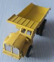 Mini Dinky 1:64 Nr. 8106 - Euclid R-40 Dump Truck - Hong Kong / Gummireifen