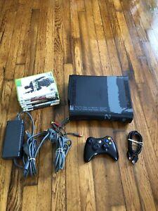 Microsoft Xbox 360 250GB Modern Warfare 2 Console - Black Tested 6 Games COD