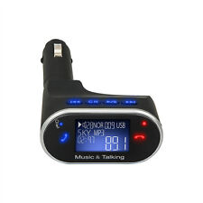 New Bluetooth Car MP3 Player FM Transmitter Wireless Radio Adapter USB Charger