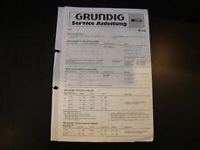 Original Service Manual  Grundig RF 820
