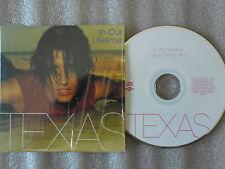 CD-TEXAS-IN OUR LIFETIME-LOVE DREAM #2-ALBUM THE HUSH-POP-(CD SINGLE)99-2TRACK