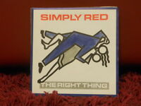 SIMPLY RED - THE RIGHT THING-THERE'S AL LIGHT nuovo 1987