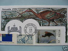 COLLINS H/P FDC 1991 NEVADA MILFORD DUCK - RARE