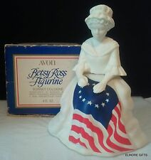 Avon Betsy Ross Decanter Figurine 4 Oz Sonnet Cologne Nib
