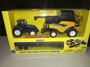 New Ray New Holland CR9090 Combine 1/32 Scale NIB