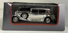Atlas 1/43 Scale Maybach Zeppelin Chrome plated with wood display Diecast Car