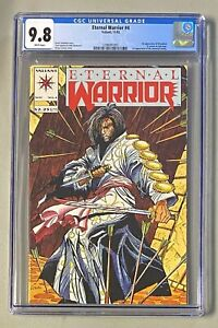 ETERNAL WARRIOR #4 Valiant 1992 CGC 9.8 Bloodshot 1st Appearance in Cameo