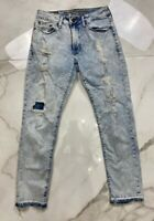 American Eagle Outfitters Mens Extreme Flex Slim Jeans Blue Stretch 28 X 28