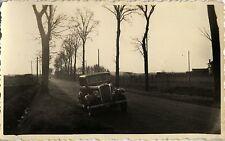 PHOTO ANCIENNE - VINTAGE SNAPSHOT - VOITURE AUTOMOBILE CITROËN ROSALIE -CAR 1939