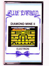 MINE DE DIAMANTS 2 (Blue Ribbon) Acorn Electron-très bon état & complet