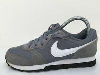 Nike MD Runner 2 Grey Textile Sport Trainers 807316-002 Women Size UK 4 Eur 36.5