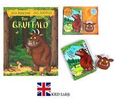 THE GRUFFALO GIFT SET By Julia Donaldson BOOK + PASSPORT HOLDER + LUGGAGE TAG UK