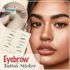 4D Hair like Stick On Authentic Eyebrows Waterproof Eyebrow Tattoo Sticker UK ❤