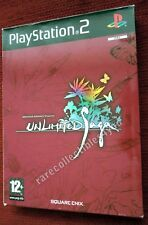 "PAL PS2 Game ""Unlimited Saga"", gebraucht, inkl. Manual"