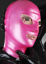 572 Latex Rubber Gummi Mask Hood customized catsuit costume clubwear cool 0.4mm