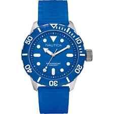 Cinturino Originale Gomma Nautica A09601G azzurro con Fibbia