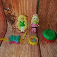Vintage 1994 McDonalds Mattel Polly Pocket 5 Piece Set Toys Cake Toppers