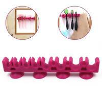 Beauty  Silicone Makeup Brush Holder Drying Rack Organizer Cosmetic Shelf Tool