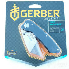 "Gerber Pocket Utility Industrial Knife 1.2"" Replaceable Blade Aluminum Handle"