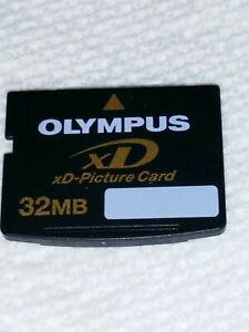 Olympus 32MB xD-Picture Card for Fuji & Olympus Digital Cameras, Korea, Samsung.