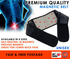 Magnetic Therapy Lumbar Back Support 18 pcs Magnets Pain Relief Brace Belt Strap