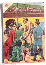 """RARE Vtg 1959 """"VIDAS ILUSTRES"""" Mexican Comic Book / Magazines"""