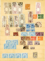 Italy Stamps Revenues 44x Mint/Used w/many Scarce items