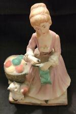 Vintage Figurine Music Box Plays Music