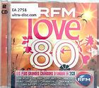 Compilation 2xCD RFM Love 80 - Les Plus Grandes Chansons D'Amour en 2CD - France