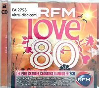 Compilation 2xCD RFM Love 80 - Les Plus Grandes Chansons D'Amour en 2CD - France