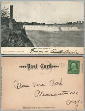 COHOES FALLS N.Y. UNDIVIDED ANTIQUE POSTCARD