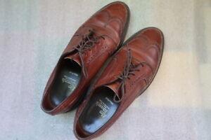 Allen Edmonds MacNeil Brogue Derby Shoes Size 9 E