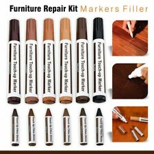 12pc Furniture Repair Kit Markers Filler Sticks Wax Restore Wood Floor Tools