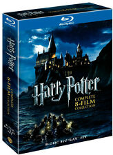 Harry Potter Complete 8-Film Collection (8-Disc Set Blu-ray Disc, 2011)  Sealed