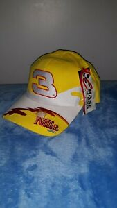 Chase Authentic Dale Earnhardt Jr. # 3 Nilla Wafers Yellow One Size Hat Cap