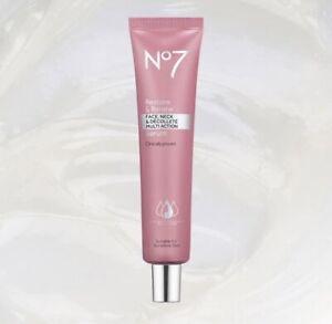 No7 Restore & Renew Face & Neck Multi-Action SERUM - Choose 30ml, 50ml, 75ml
