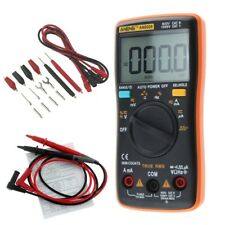 AN8008 True RMS LCD Multimeter Digital Voltmeter  Ammeter AC DC Voltage Current