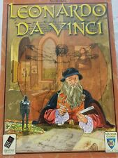 Leonardo Da Vinci Strategy Board Game By: Mayfair games COMPLETE