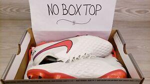 Nike Tiempo Legend 8 Elite FG Pearl White Soccer AT5293 163 Pick Size