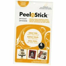 Peel n Stick Adhesive Sheets, 5.5 x 8.75-Inch, 4-Pack Clear