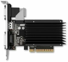 Palit Geforce GT 730 2GB DDR3 Fanless Graphics Card, NEAT7300HD46-2080H