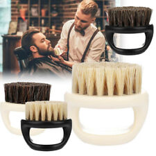 6*5.3cm Men Shaving Brush Barber Facial Beard Cleaning Tool With Handle