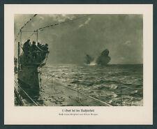 Claus Bergen Kaiserliche Marine U-Boot Nachtfahrt Nordsee Dampfer Versenkung ´17