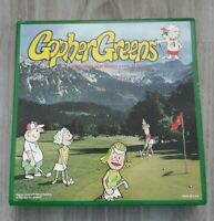 Gopher Greens Golf Board Game Complete 1993 Made In USA. Christmas Gift Dad Gift