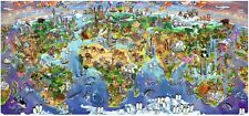 NEW! Ravensburger World Wonders 2000 piece panoramic geographical jigsaw puzzle